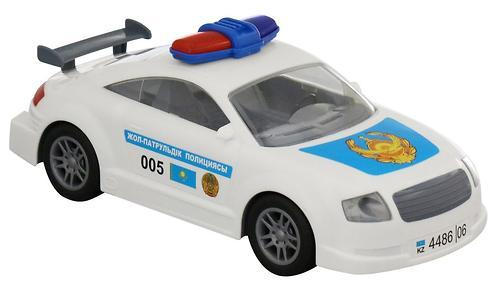 Автомобиль Полесье ДПС Казахстан инерционный (5)