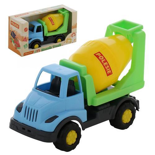 Автомобиль-бетоновоз Полесье Кнопик в коробке (10)