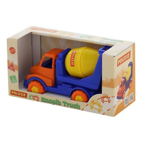 Автомобиль-бетоновоз Полесье Кнопик в коробке (9)