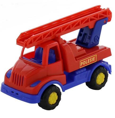 Автомобиль-пожарная спецмашина Полесье Кнопик в коробке (5)