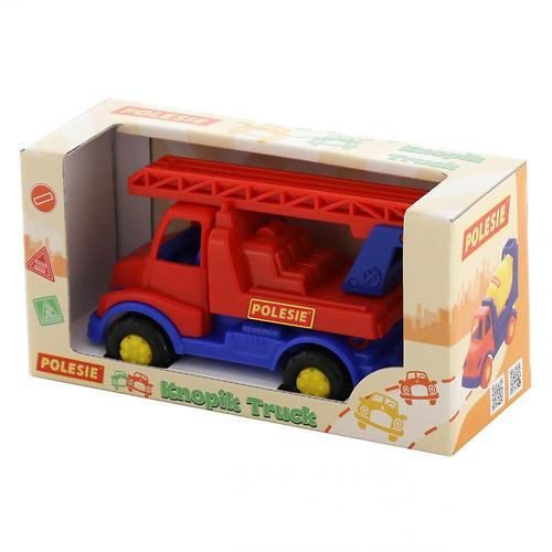 Автомобиль-пожарная спецмашина Полесье Кнопик в коробке (8)