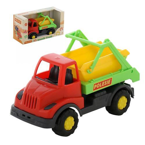 Автомобиль-коммунальная спецмашина Полесье Кнопик в коробке (10)