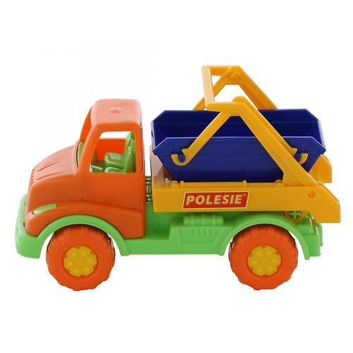 Автомобиль-коммунальная спецмашина Полесье Кнопик в коробке (7)