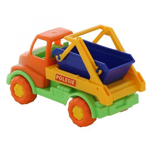 Автомобиль-коммунальная спецмашина Полесье Кнопик в коробке (8)