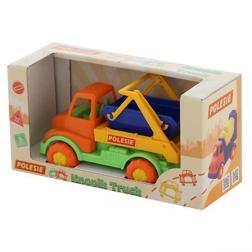 Автомобиль-коммунальная спецмашина Полесье Кнопик в коробке (9)