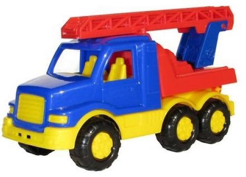 Автомобиль-пожарная спецмашина Полесье Максик в коробке (4)