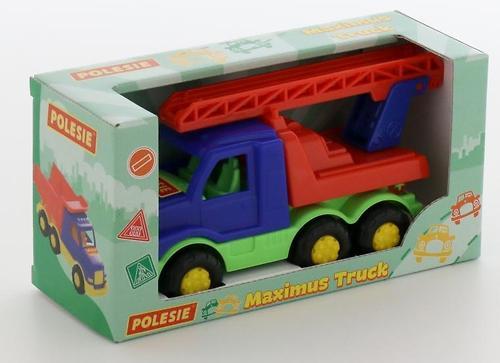 Автомобиль-пожарная спецмашина Полесье Максик в коробке (5)