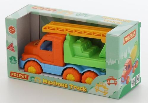 Автомобиль-пожарная спецмашина Полесье Максик в коробке (6)