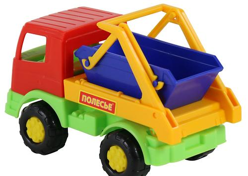 Автомобиль-коммунальная спецмашина Полесье Тёма (8)