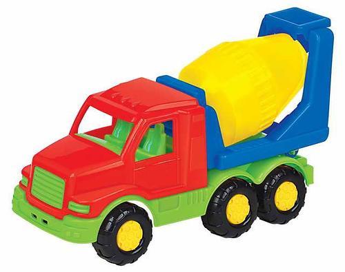 Автомобиль-бетоновоз Полесье Максик в коробке (3)