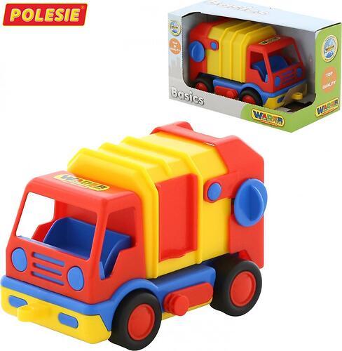 Автомобиль коммунальный Полесье Базик в коробке (3)