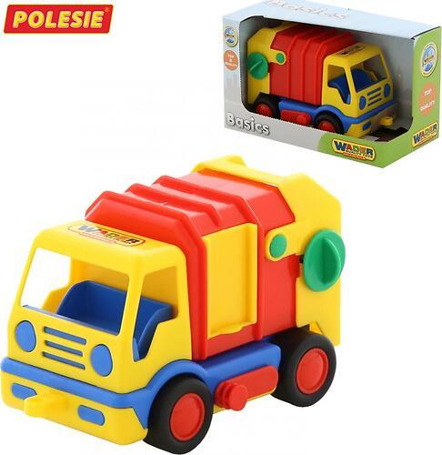 Автомобиль коммунальный Полесье Базик в коробке (4)