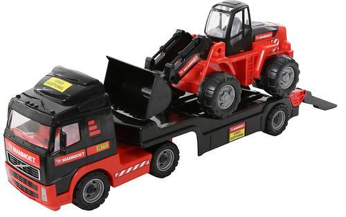 Автомобиль-трейлер + трактор-погрузчик Полесье 204-01 Mammoet Volvo (1)