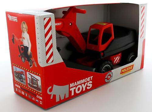Мега-экскаватор колёсный Полесье 202-01 MAMMOET в коробке №2 (4)