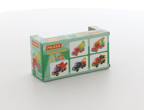 Автомобиль-коммунальная спецмашина Полесье Максик в коробке (8)