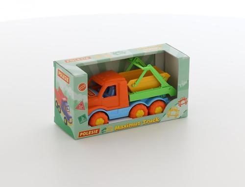 Автомобиль-коммунальная спецмашина Полесье Максик в коробке (7)
