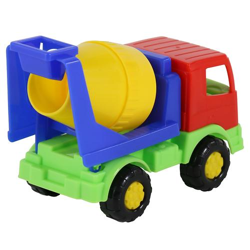Автомобиль-бетоновоз Полесье Тёма в коробке (9)