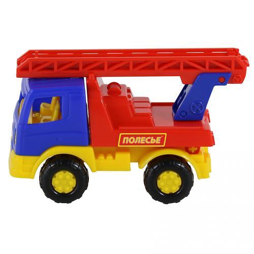 Автомобиль-пожарная спецмашина Полесье Тёма в коробке (9)