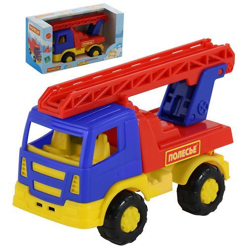 Автомобиль-пожарная спецмашина Полесье Тёма в коробке (6)