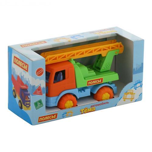Автомобиль-пожарная спецмашина Полесье Тёма в коробке (10)