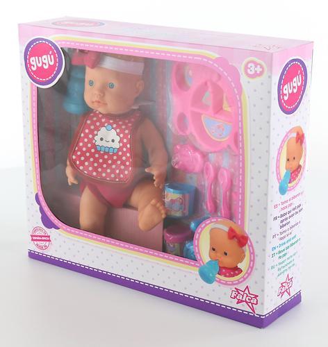 Кукла пупс Falca пьет и кушает (с набором для кормления) 40 см (16)