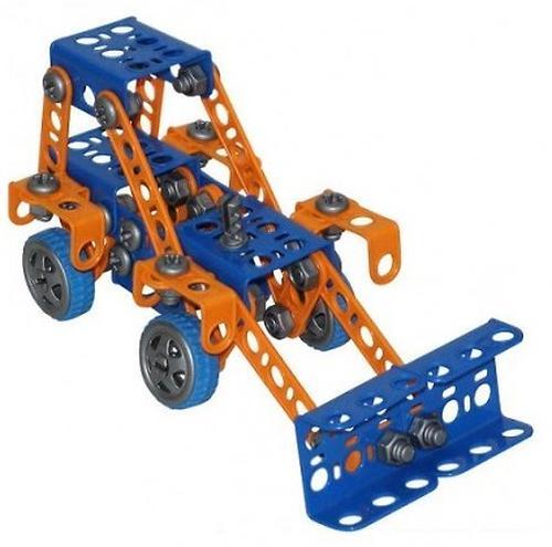 Конструктор Полесье Изобретатель - Трактор-погрузчик №1 (141 элемент) (в пакете) (4)