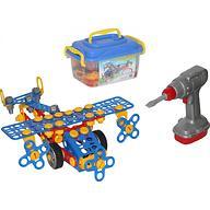 Конструктор Изобретатель - Самолёт №2 144 элемента
