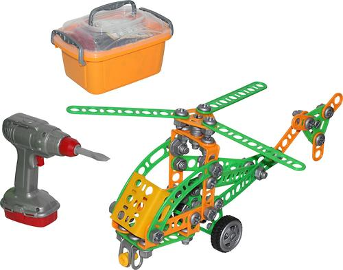 Конструктор Изобретатель - Вертолёт №1 130 элементов (1)