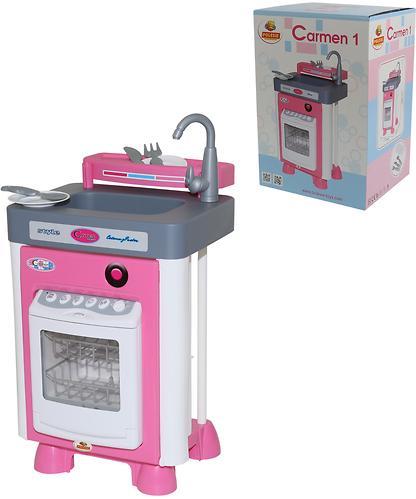 Набор Полесье Carmen №1 с посудомоечной машиной (3)