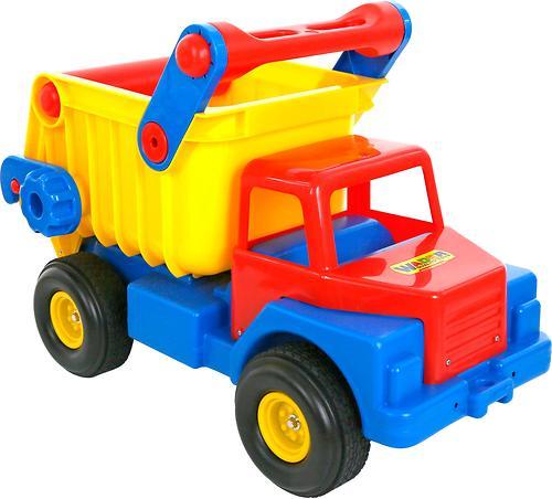 Автомобиль-самосвал №1 Полесье с резиновыми колёсами (4)