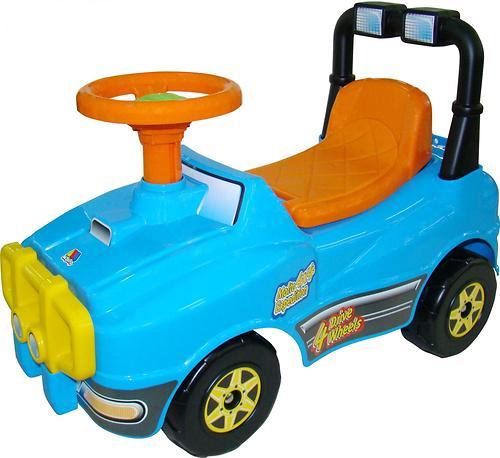 Автомобиль-каталка Полесье Джип №2 (7)