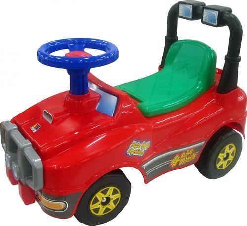 Автомобиль-каталка Полесье Джип №2 (5)
