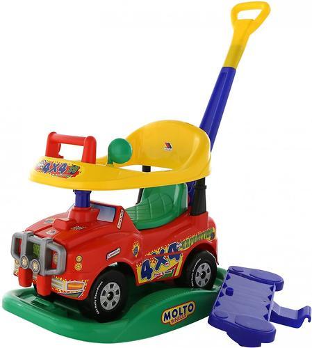 Автомобиль Полесье Джип-каталка Викинг многофункциональный со звуковым сигналом (8)