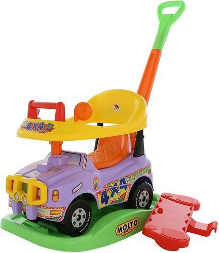 Автомобиль Полесье Джип-каталка Викинг многофункциональный со звуковым сигналом (6)
