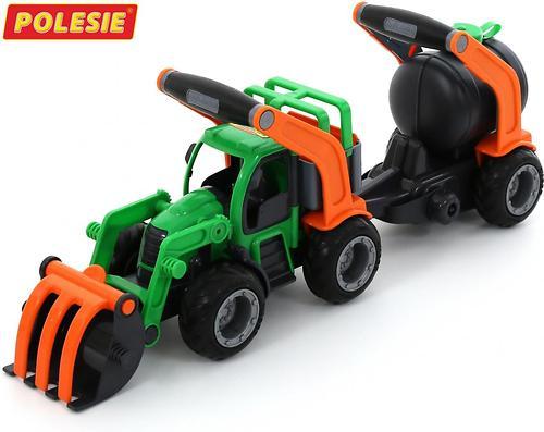Трактор-погрузчик с цистерной Полесье ГрипТрак (в коробке) (5)