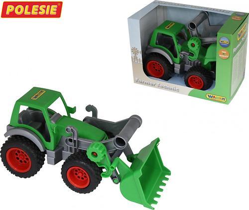 Трактор-погрузчик Полесье Фермер-техник (в коробке) (3)