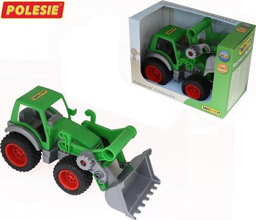 Трактор-погрузчик Полесье Фермер-техник (в коробке) (4)