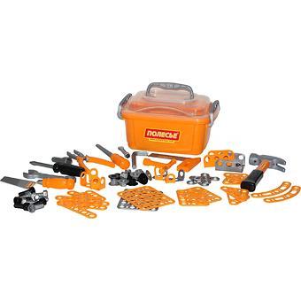 Набор инструментов Полесье №10 166 элементов в контейнере - Minim