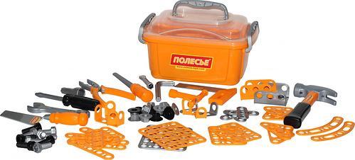 Набор инструментов Полесье №10 166 элементов в контейнере (3)