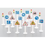 Набор Полесье дорожных знаков №2 20 элементов в пакете