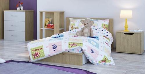 Кроватка-трансформер детская Polini Classic Дуб/Белый глянец (11)