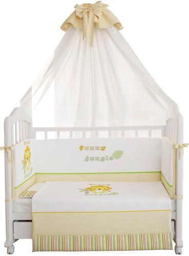 Комплект в кроватку Polini Джунгли, 7 предетов (5)