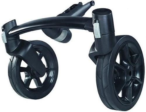 Колеса для коляски передние 2шт Quinny Moodd Front Fork Black (4)