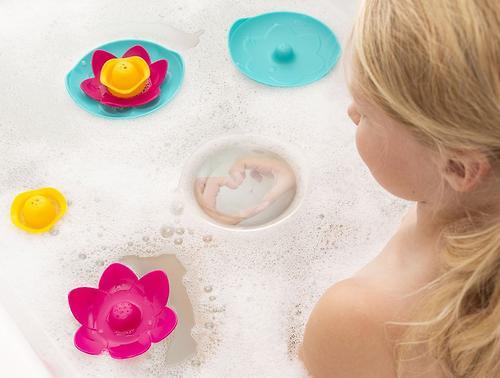 Игрушка для ванны Quut Lili Цветочек (11)