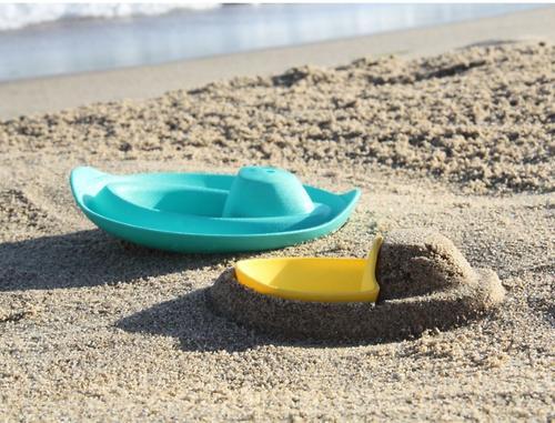 Формочка-игрушка Quut Sloopi для ванны и песка Лодочка (9)