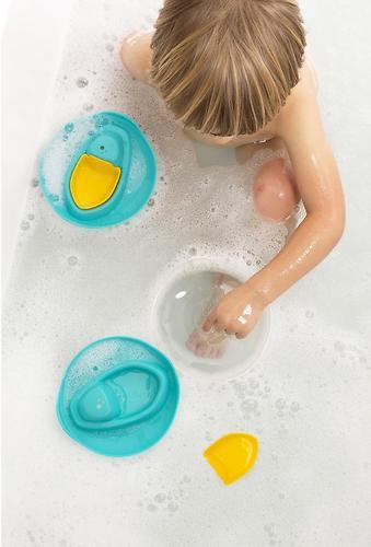 Формочка-игрушка Quut Sloopi для ванны и песка Лодочка (8)