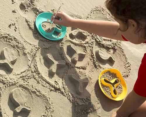 Формочка Quut StarFish для песка, снега и ванны (11)