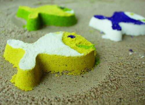 Формочка Quut StarFish для песка, снега и ванны (12)