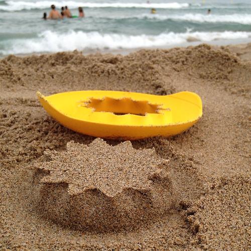 Формочка Quut SunnyLove для песка, снега и ванны (9)