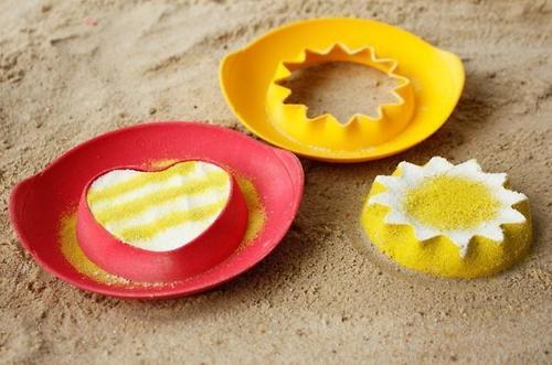 Формочка Quut SunnyLove для песка, снега и ванны (11)